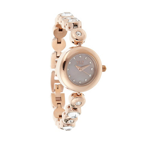 Van Peterson 925 - Designer ladies rose bracelet watch