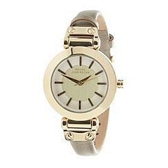 RJR.John Rocha - Designer ladies gold metallic strap watch