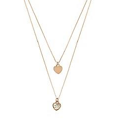 Pilgrim - Rose gold plated 'Mila' necklace