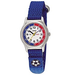 Lorus - Kids' blue football watch
