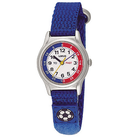 Lorus - Kids+ blue football watch