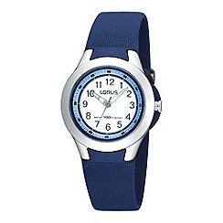 Lorus - Kids' pale blue square digital watch