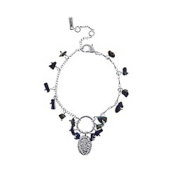 Pilgrim - Silver plated 'Nessa' bracelet