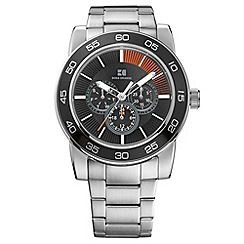 Boss Orange - Men's silver chronograph bracelet watch