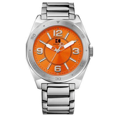 Boss Orange Men´s silver and orange watch 12369 - . -