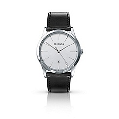 Sekonda - Men's black analogue strap watch