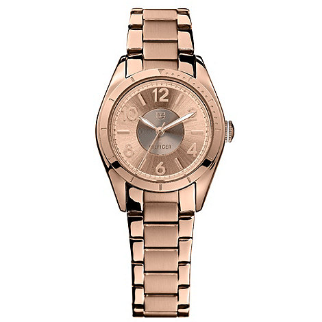 Tommy Hilfiger - Ladies rose gold bracelet watch