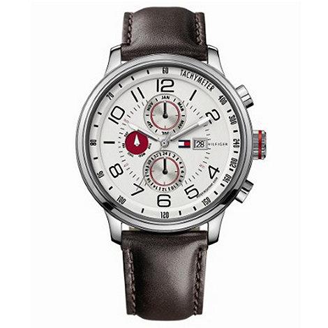 Tommy Hilfiger - Men+s brown multi-dial watch