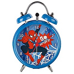 Spiderman - Mini multi-coloured 'Spiderman' alarm clock