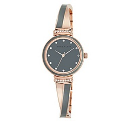 Anne Klein - Ladies multi-coloured 'Tiffany' bangle watch