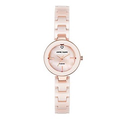 Anne Klein - Ladies rose gold 'ava' bracelet watch