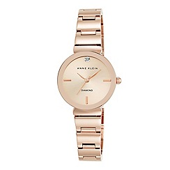 Anne Klein - Ladies rose gold 'Madison' bracelet watch