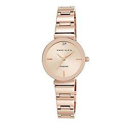 Anne Klein - Ladies rose gold 'Madison' bracelet watch