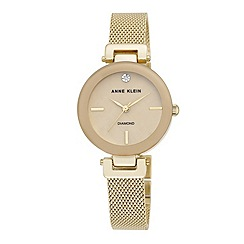 Anne Klein - Ladies gold 'amelia' bracelet watch