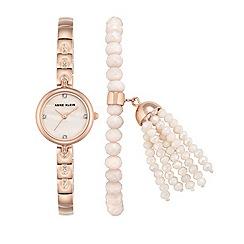 Anne Klein - Ladies rose gold 'diana' bracelet watch