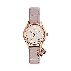 Radley - Ladies pink 'Liverpool Street' mini watch RY2588
