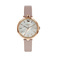 Radley - Ladies pink 'St Dunstan's' watch RY2552