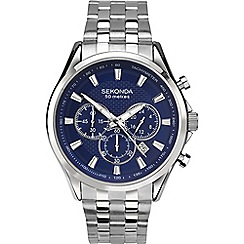 Sekonda - Men's silver chronograph watch 1393.28