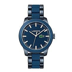 Lacoste - Gents blue strap watch