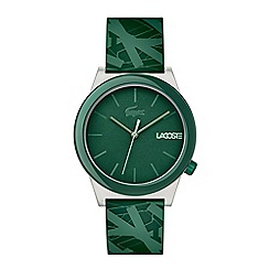 Lacoste - Gents green strap watch