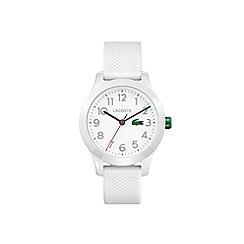 Lacoste - Kids white strap watch