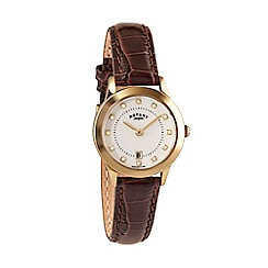 Rotary - Ladies leather strap watch