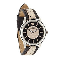 Floozie by Frost French - Ladies black spot wrist watch
