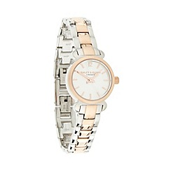 Bailey & Quinn - Ladies two tone skinny bracelet watch