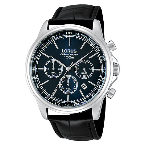 Lorus - Men+s chronograph strap watch