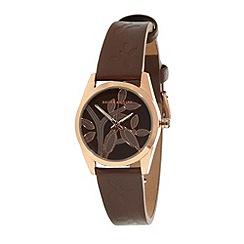 Bailey & Quinn - Ladies light brown tree dial watch