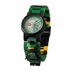 LEGO - Kid's multi-coloured 'Lego Ninjago Movie' Lloyd minifigure link watch