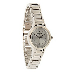 Infinite - Ladies silver mini dial bracelet watch