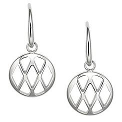 Fossil - Ladies stainless steel drop earrings