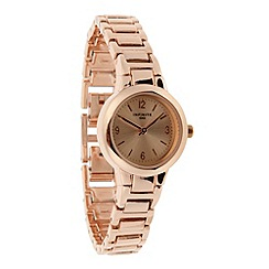 Infinite - Ladies rose mini dial bracelet watch