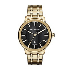 Armani Exchange - Men's gold watch