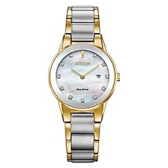 Citizen - Ladies multi-coloured 'Eco-Drive' bracelet watch GA1054-50D