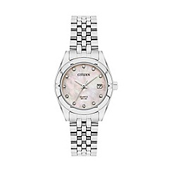 Citizen - Ladies sliver bracelet watch EU6050-59D