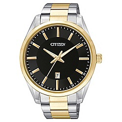 Citizen - Men's multi-coloured bracelet watch BI1034-52E