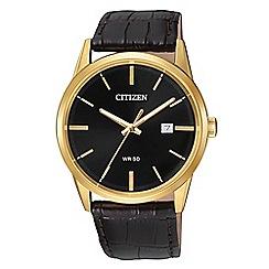 Citizen - Men's brown watch BI5002-06E