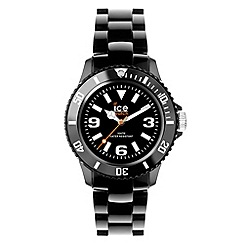 ICE - Unisex solid black watch