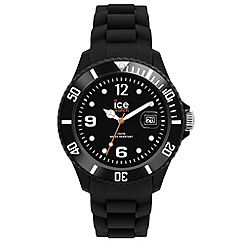 ICE - Unisex big black 'Forever' watch