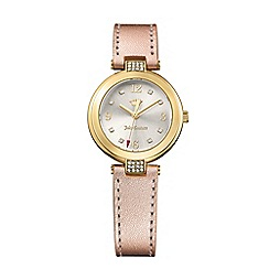 Juicy Couture - Ladies sienna watch with rose gold leather strap