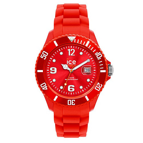 Ice - Unisex watch forever - red small