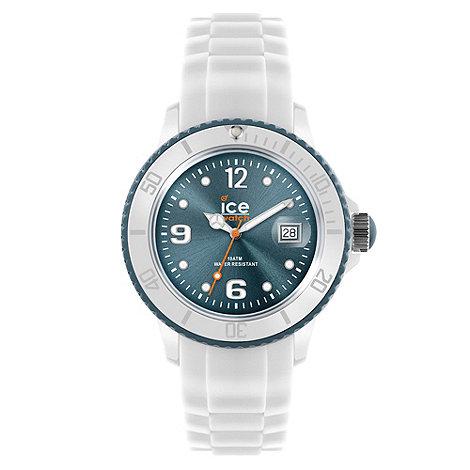 Ice - Unisex watch white - white / blue