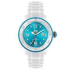 ICE - Unisex watch white - white / turquoise