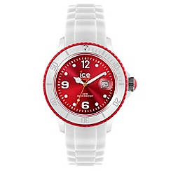 ICE - Unisex watch white - white / red