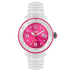 ICE - Unisex watch white - white / pink small