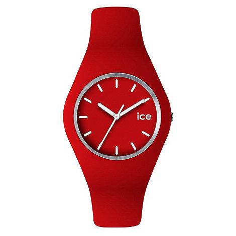 Ice - Unisex watch red