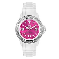 ICE - Unisex watch star - white / pink