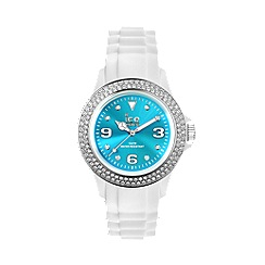 ICE - Unisex watch star - white / turquoise